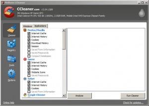 CCleaner Opera Options